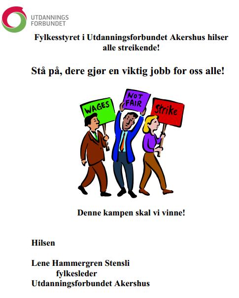 streikehilsen